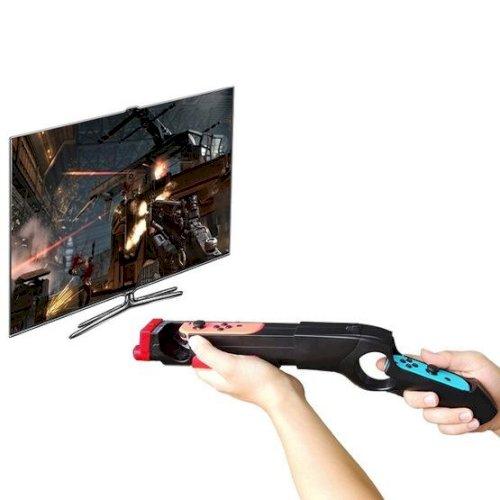 Iplay HBS-122 Shooting Game Gun Handle Holder For Nintendo Switch Joy-Con