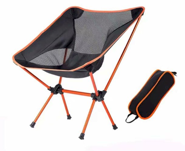 Folding Chair Portable Outdoor Furniture Camping Beach Metal Chairs