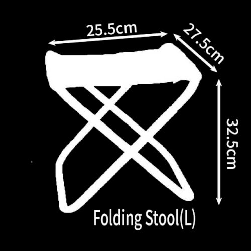 Chair Folding Fishing Stool Beach BBQ Picnic Portable Outdoors Furniture